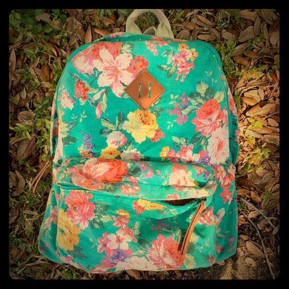 22fb939eb Madden Girl Accessories   Canvas Floral Backpack   Poshmark